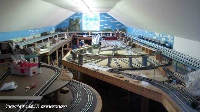 O Gauge Train Room Remodel Project 2012 J Amp C Studios O