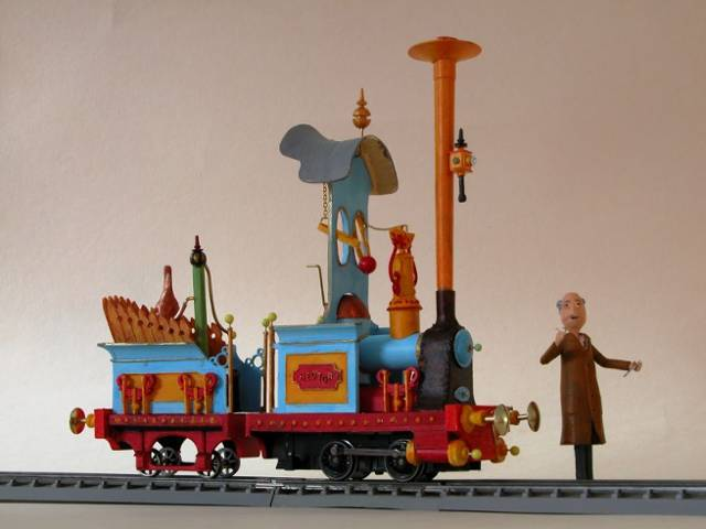 Rowland Emett O Gauge Railroading On Line Forum