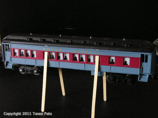 O Gauge How To Polar Express Tabbed Window Bulb Change J C