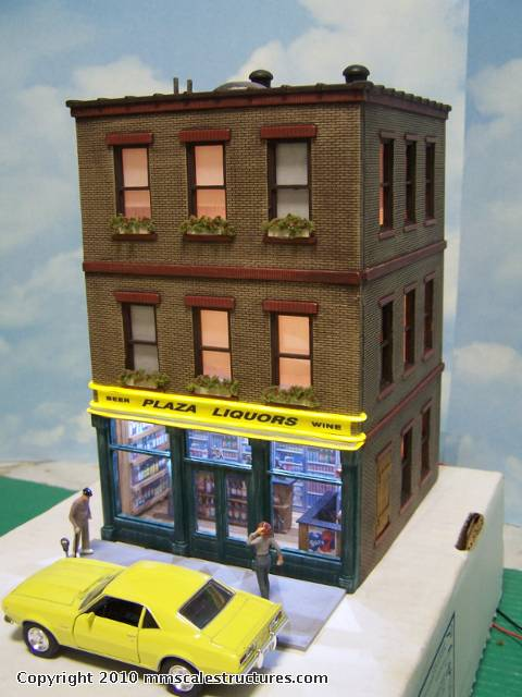 O Gauge Plaza Liquors From an Ameritowne Building: J&C Studios O